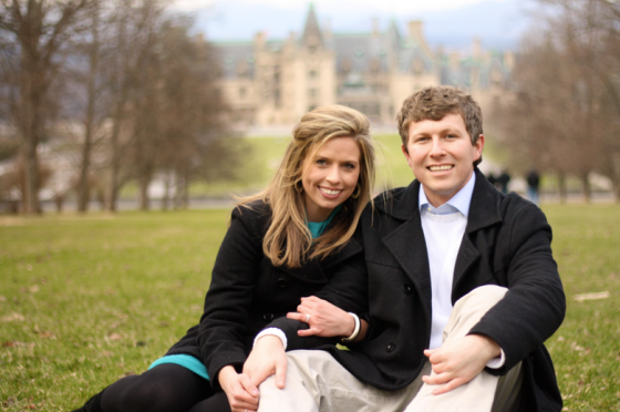 Couple at Biltmore